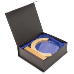 Pantalon de travail haute protection bleu marine/jaune fluo