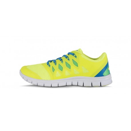 Chaussures sportives jaune fluo