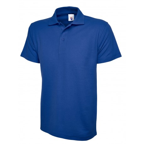 Polo basique bleu royal