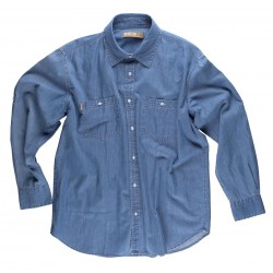 Chemise jeans clair