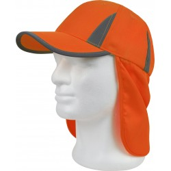 Casquette orange H.V