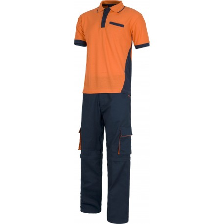 Ensembles bleu marine / orange