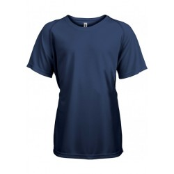 T-shirt technique enfant navy