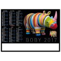 CALENDRIERS 2017 - format BANCAIRE
